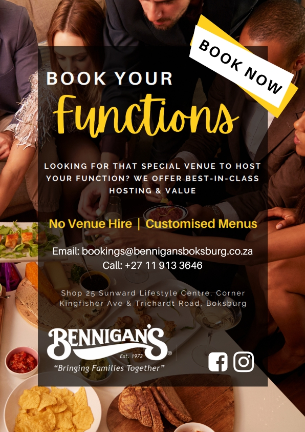 Bennigans Function Posters – A4_002