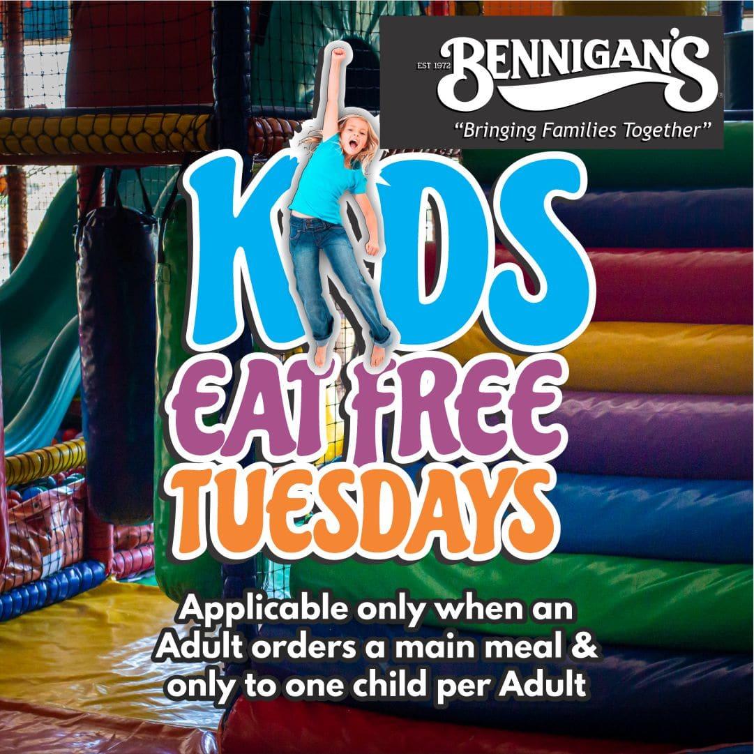 Kids eat free Tuesdays v2a
